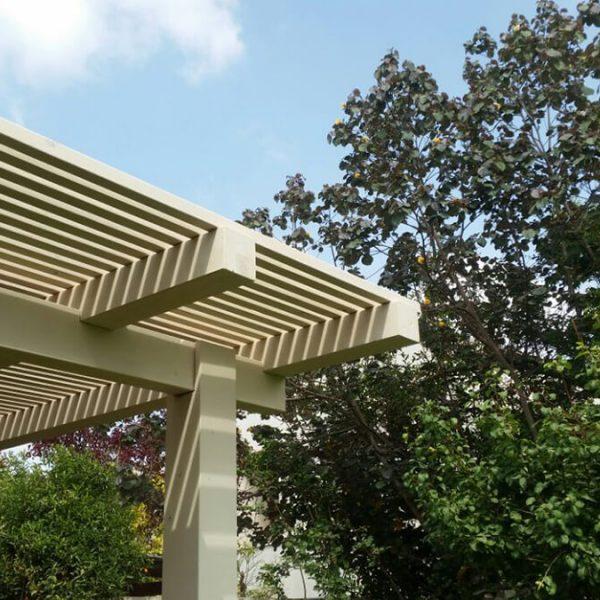 פרגולה לגינה - מעצבי חוץ Amiry & Co